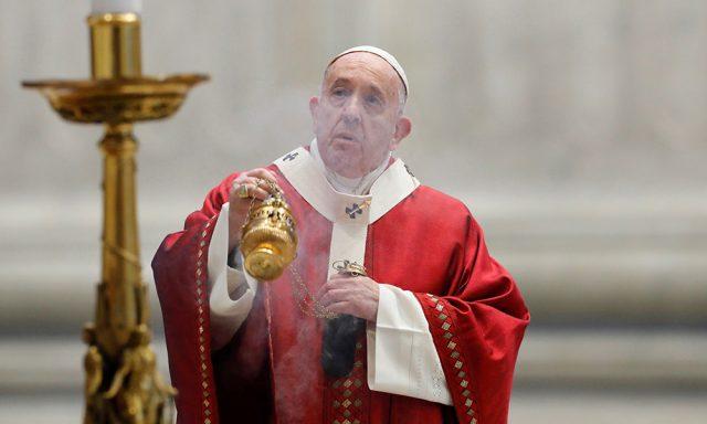 Photo of Papa Francisco llama a vencer la pandemia