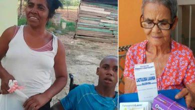 Photo of Fundación Nelson Abreu entrega alimentos y medicamentos a familias pobres