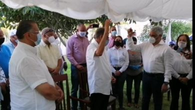 Photo of Ex diputado provincia Duarte Hector Mora se juramenta en el PRD