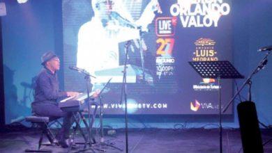 Photo of Ramón Orlando en show virtual