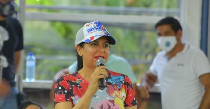 Photo of Rosa Pilarte, la candidata a diputada en La Vega vinculada a lavado de activos