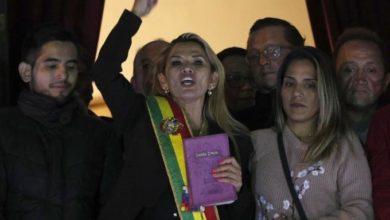 Photo of Presidenta interina de Bolivia da positivo a COVID-19