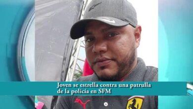 Photo of Joven se estrella contra una patrulla de la policía en SFM