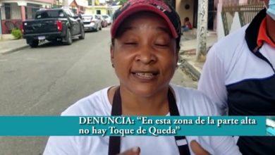 """Photo of """"En esta zona de la parte alta de SFM no hay Toque de Queda"""""""
