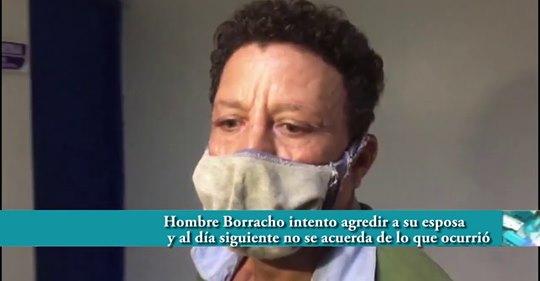 Photo of Increible hombre borracho intentó agredir a su esposa y al día siguiente no recuerda lo que ocurrió