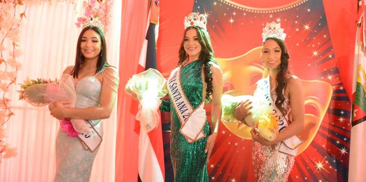 Photo of Escogen a la señorita Elizabeth Adriana Salazar como nueva reina Santa Ana 2020