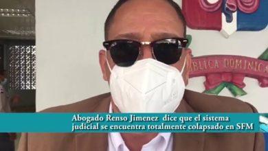 Photo of Abogado Renso Jimenez dice que el sistema judicial se encuentra totalmente colapsado en SFM