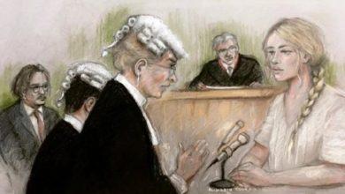 "Photo of Amber Heard ante tribunal: Johnny Depp ""amenazó con matarme varias veces"""