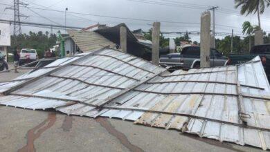 Photo of Árboles derribados, viviendas afectadas y fuerte oleaje en María Trinidad Sánchez