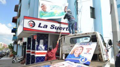 Photo of Limpian Santiago y Puerto Plata de propaganda
