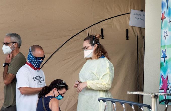 Photo of Florida rompe récord nacional de casos de COVID-19 en un día con 15,300