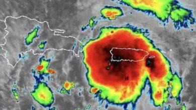 Photo of Gloria Ceballos: Tormenta Isaías tiene vientos sostenibles de 95 kilómetros por hora