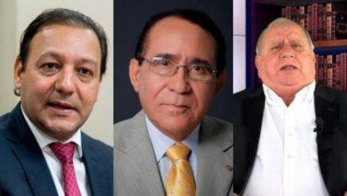 Photo of Recuperados del Covid Abel Martínez, Príamo Rodríguez y el doctor Fadul