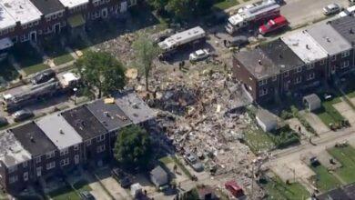 Photo of Explosión en Baltimore derrumba tres edificios residenciales; se registra una muerte