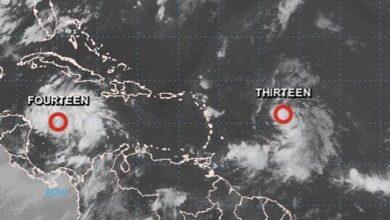 Photo of La depresión tropical 13 podría afectar a RD este fin de semana