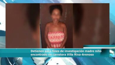 Photo of Detienen para fines de investigación madre niño encontrado en carretera Villa Riva-Arenoso