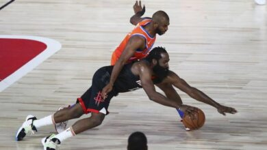 Photo of James Harden lidera aplastante triunfo de Houston que superó a Oklahoma