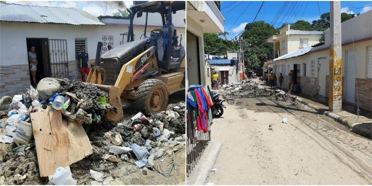 Photo of Ayuntamiento SFM realiza operativo de limpieza en sectores inundados por crecida río Jaya