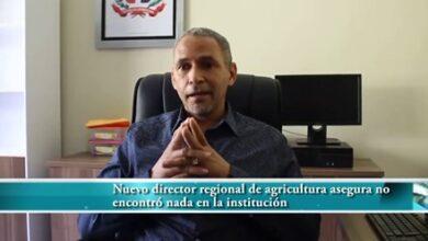 Photo of Nuevo director regional de agricultura asegura técnicos volverán a los campos; dice halló botellas en la nómina