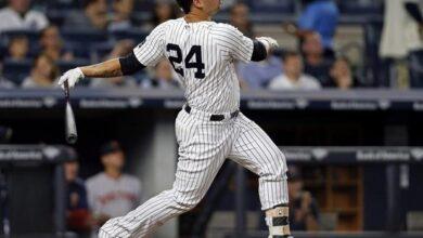 Photo of Jonrón con bases llenas de Gary Sánchez en extrainning, protagoniza barrida de Yankees a los Mets