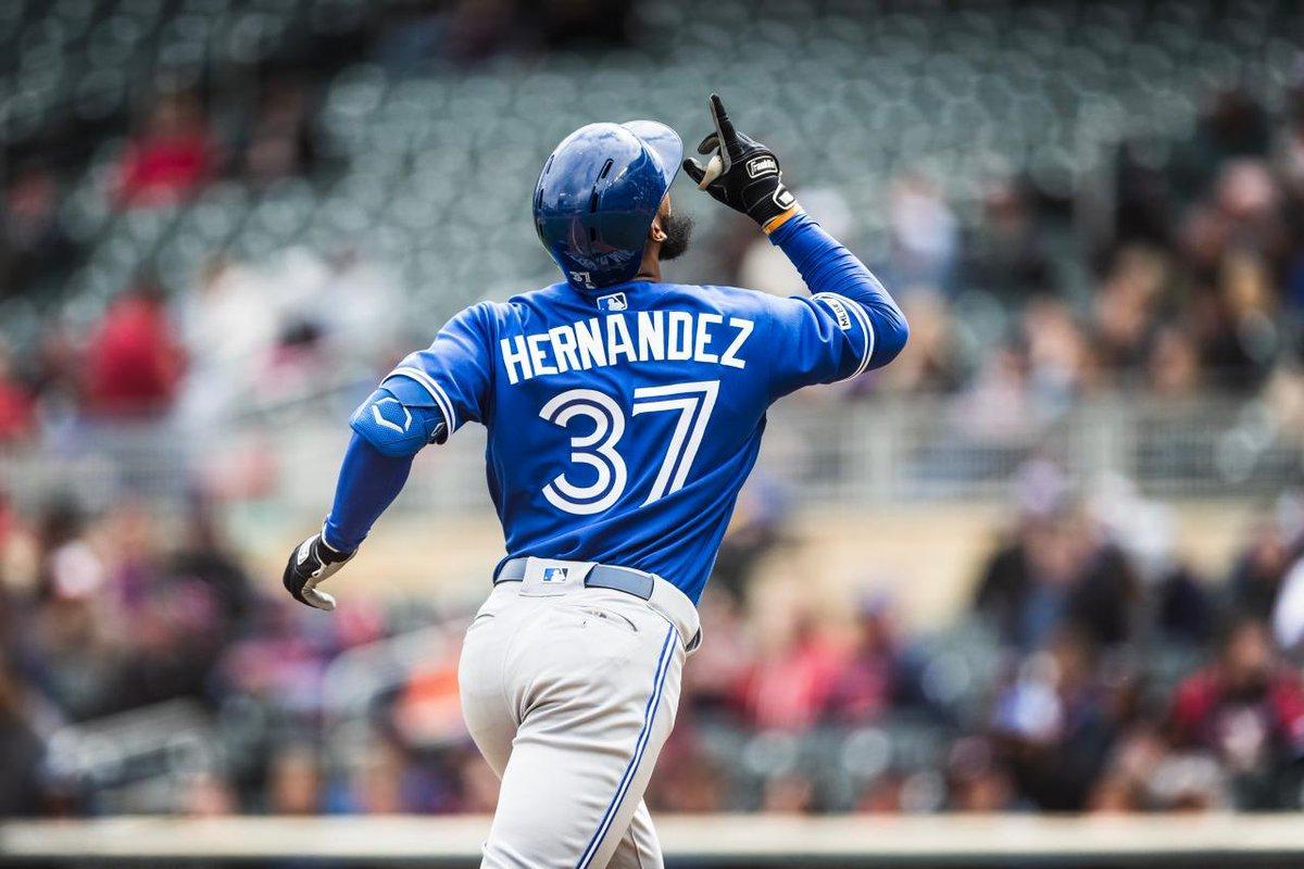 Photo of Teóscar Hernández sigue mostrando su poder, pega noveno jonrón en el triunfo de Toronto