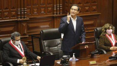 Photo of Así se salvó el presidente Vizcarra de ser destituido por el Congreso peruano