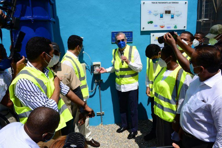 Photo of Presidente inaugura planta tratamiento en Las Terrenas; Collado dice hay 1,500MM en obras de este tipo paralizadas