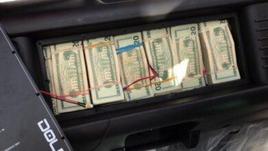 Photo of Adunas decomisa US$2,174,340 dólares más que llegaron al país en dos bocinas