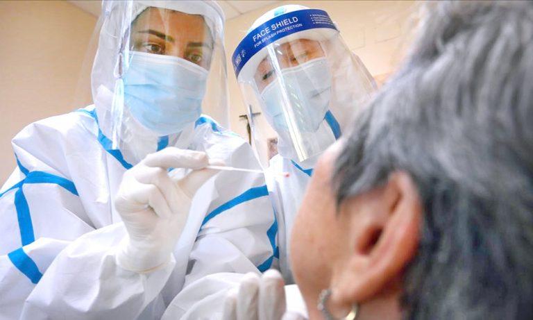 Photo of Casos de COVID-19 aumentan a 110,122; 402 trabajadores de la salud están infectados