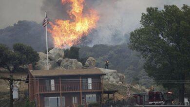Photo of California vive su segunda oleada de fuegos del verano en plena ola de calor