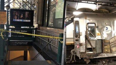 Photo of Tren A se dirigía Alto Manhattan se descarrila dejando tres heridos; uno presuntamente dominicano