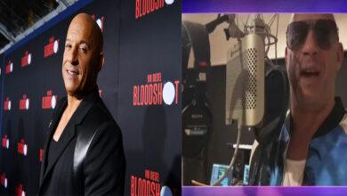 Photo of Vin Diesel sale de su zona de confort en el cine y se lanza como cantante