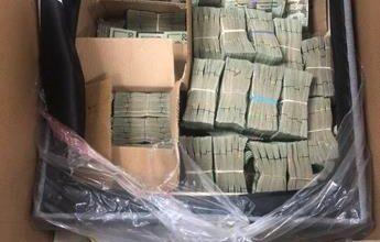 Photo of Autoridades estadounidenses confiscan medio millón de dólares que venían en una silla al país