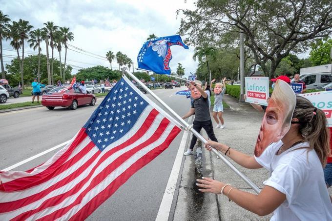 Photo of Caravana de apoyo a reelección de Trump reúne a miles de partidarios en Miami