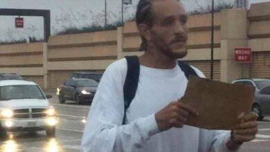 Photo of Ex compañero de LeBron que ganó 16 millones de dólares pide dinero en un semáforo
