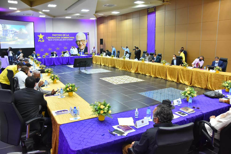 Photo of Estos son los miembros de comisión organizadora del noveno congreso ordinario del PLD