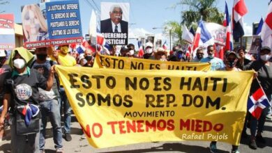 Photo of Marchan en Mao para que expulsen haitianos ilegales