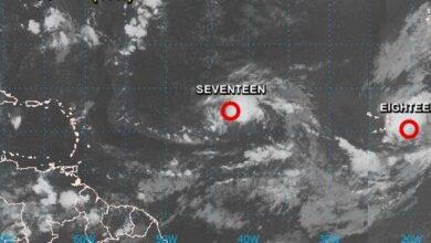 Photo of Onamet da seguimiento a dos depresiones tropicales que se formaron en el Atlántico